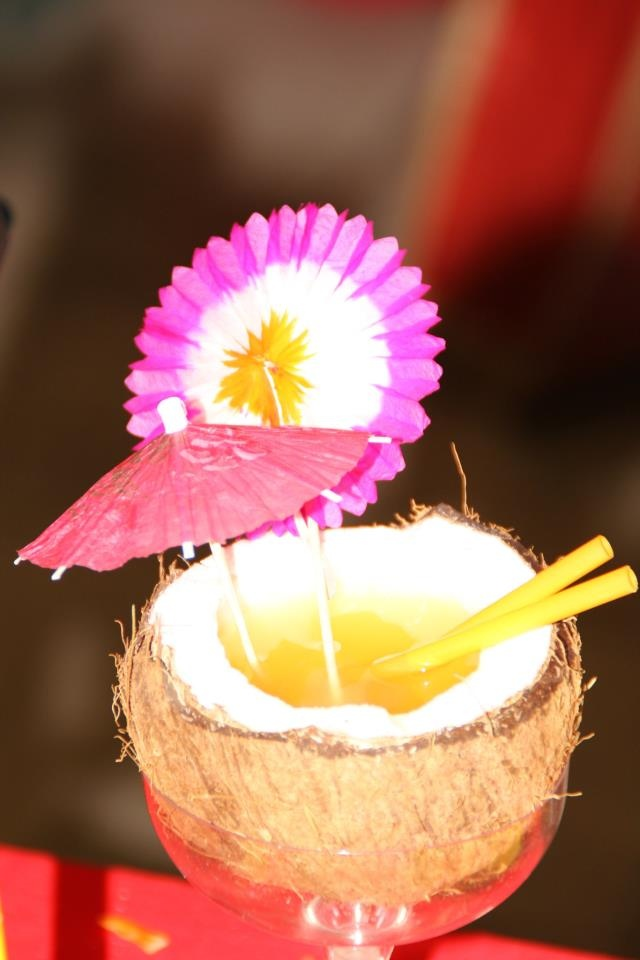 Hawaii themed party cocktail
