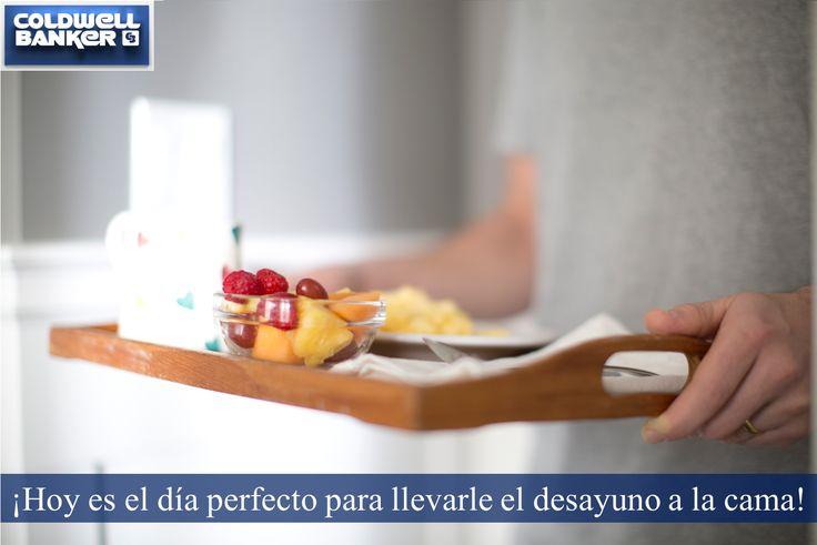 ¿Por qué no llevarle a la cama ese desayuno que tanto le gusta? Compartan este momento en familia. #lainmobiliariaazul #mihogaresextraordinario