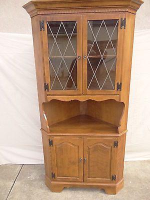 Lovely Ethan Allen Corner Cabinet