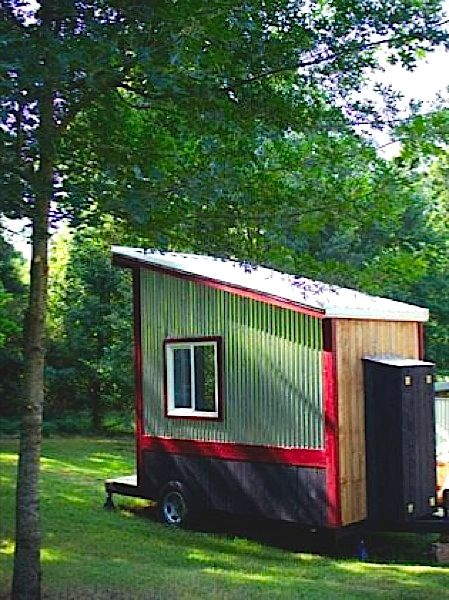 Outhouse Tiny House for Sale by Tennessee Tiny Homes for just $12,500