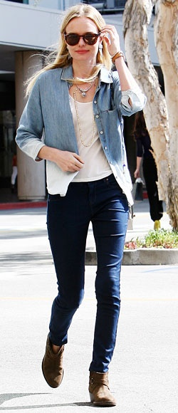 Bleached denim shirt ... going to try it!