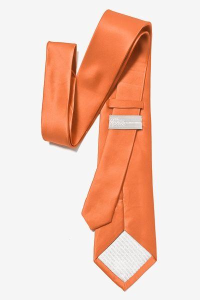 Burnt Orange Extra Long Tie