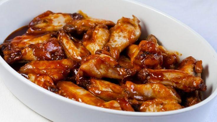 Receta de Alitas de pollo en salsa BBQ artesanal – RevistaRutaGourmet