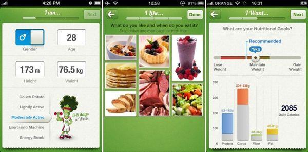 Nutrino es una aplicación móvil que ofrece recomendaciones nutricionales personalizadas y de manera gratuita por tiempo limitado. Introduciendo datos como la actividad física, peso, altura, edad, sexo y lo que comemos a diario, nos mostrará un menú saludable ajustado a nuestras necesidades y preferencias.
