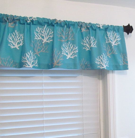 Nautical Curtain Valance Made To Order 50 Wide In Your