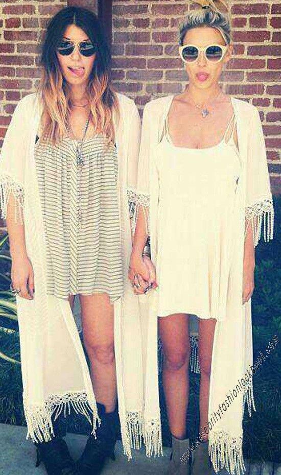 Tassel Chiffon Kimono Wrap - #kimono #wrap #bohostyle #fashion #love #hippie