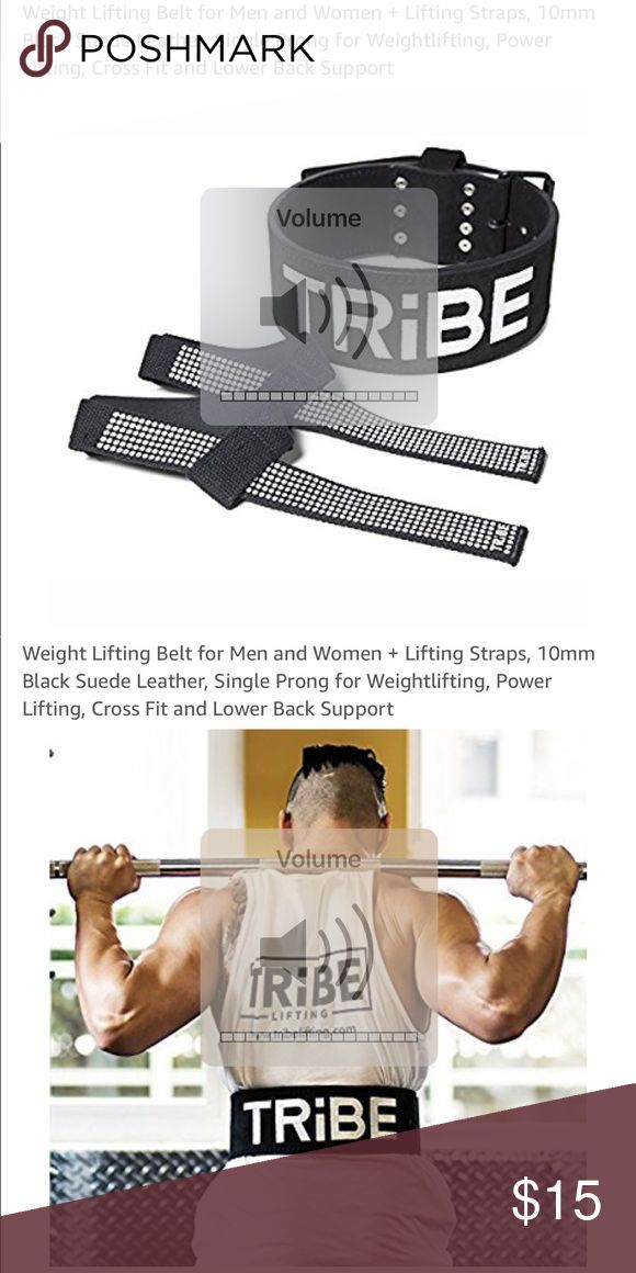Weight lifting straps - large Bought this on amazon for my husband, it is too small and I'd rather sell it than return it. These are $31 on amazon. SiZe large. New Other