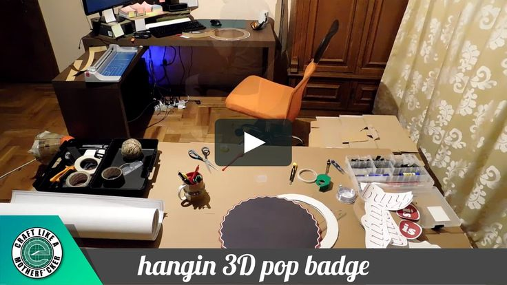 """This is """"3d pop badge"""" by Claudiu Ionut Leon on Vimeo, the home for high quality videos and the people who love them."""