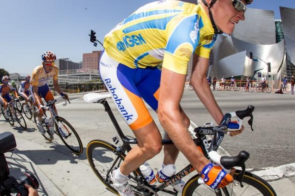 Robert Gesink is back at the top by Winning Tour of California 2012. #Procycling #AMGEN Photo: © Jon Devich