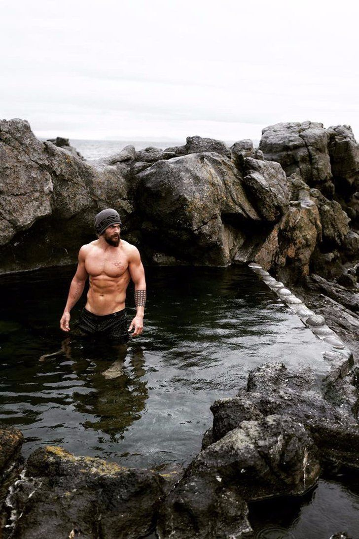 Somebody Get Jason Momoa Out of Iceland Before He Melts It With His Abs