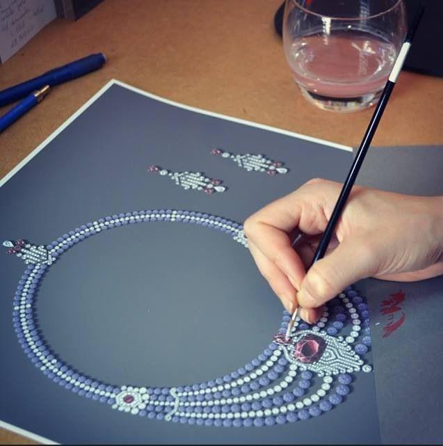 Garard. Necklace sketch...♡