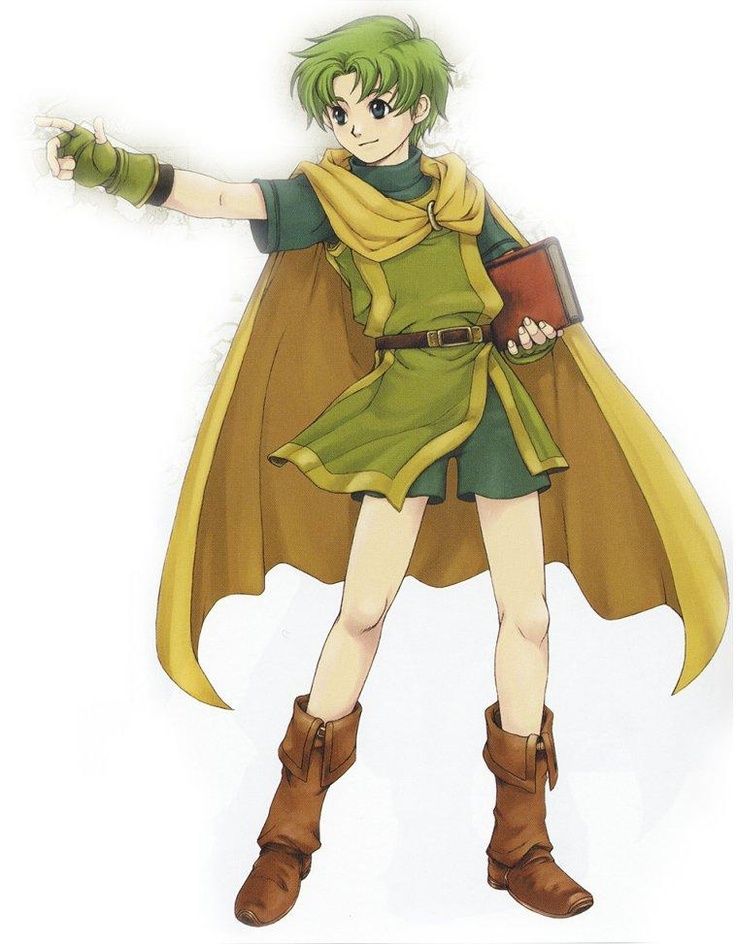 Lugh - Fire Emblem: The Binding Blade
