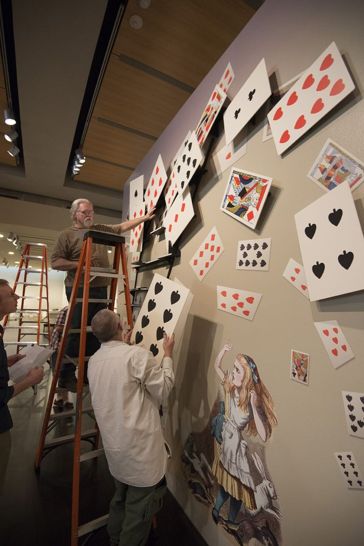 "Slideshow: See the exhibition ""Alice's Adventures in Wonderland"" come to life during installation 