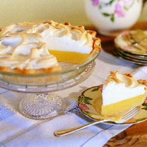 Weep-no-more lemon meringue pie - with details about why meringue pies weep and how to avoid it.