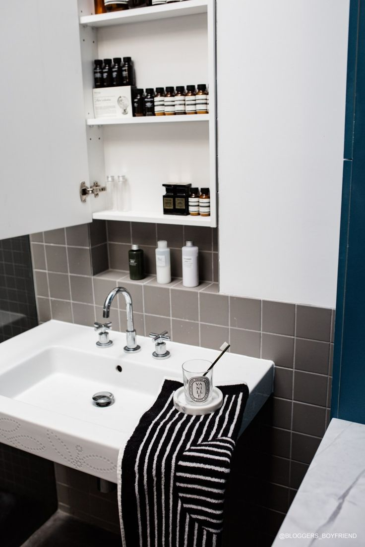 A PINTEREST-ABLE HOME http://Bloggersboyfriend.com http://instagram.com/Bloggersboyfriend David Weir Architects. Open space living, lots of natural lights, open ceiling bathroom. Aesop collection, whole collection. grey minimal bathroom interior. Timber pallets made bed base, Men in skinny white jeans, vintage camera, ikea art frames, Organising Porn, Muji Store, sheet colours, mens bedroom, bachelor pad, Mrporter Box, Mirror. Diptyque candle as Interior. How to style.