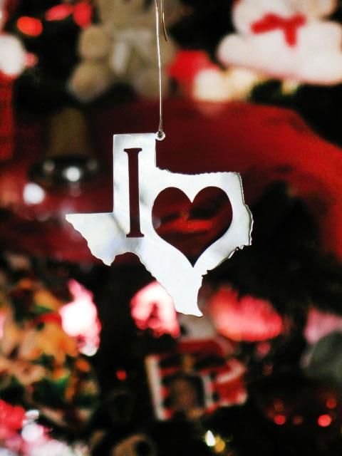 Our tree sure would look Goode with this Texas ornament on it.