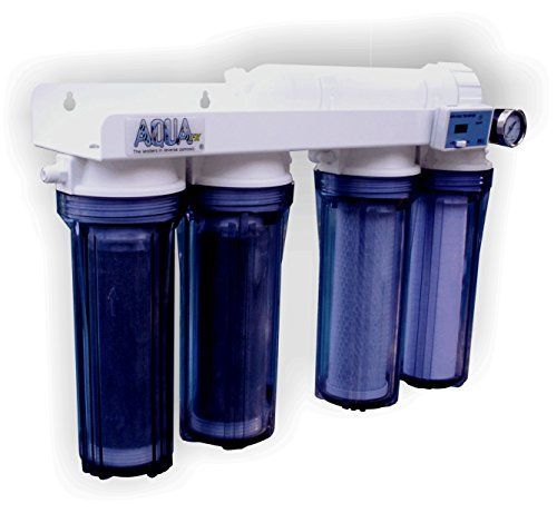 AquaFX 5 Stage Mako Double DI Reverse Osmosis System, 100 GPD *** Read more reviews of the product by visiting the link on the image.