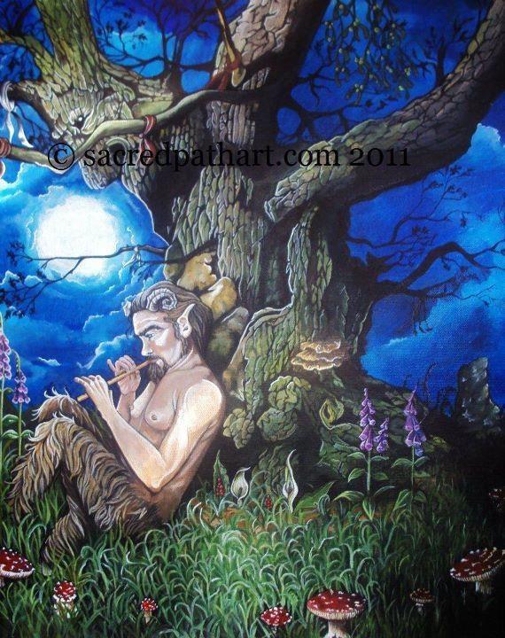 Pagan Art  Artist unknown