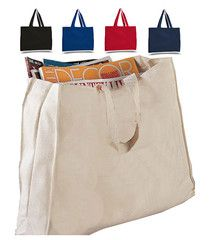 Full Gusset Heavy Canvas Cheap Tote Bags Thumbnail