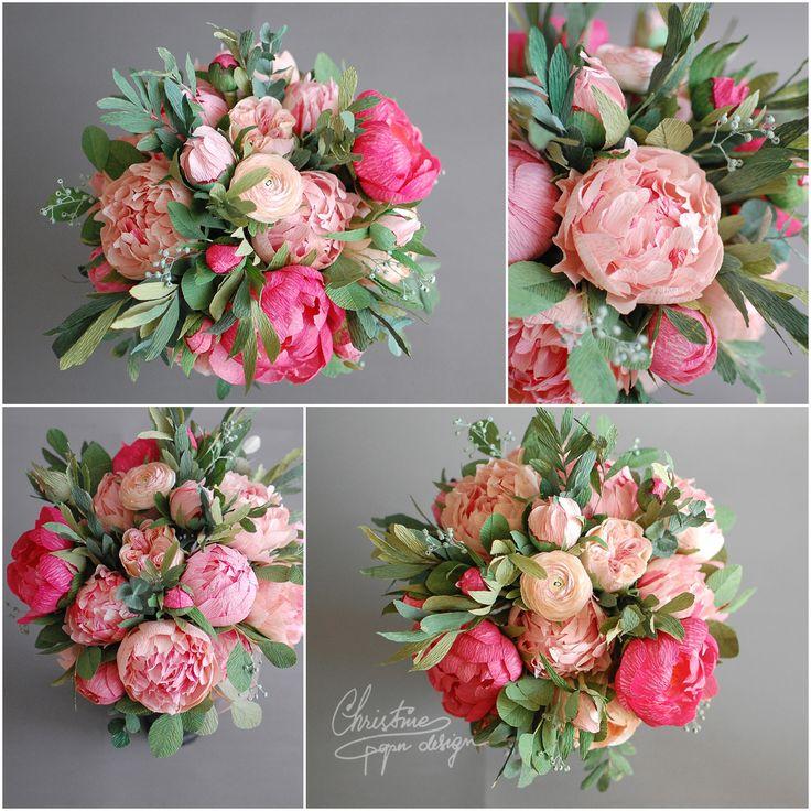 bridal bouquet - Christine paper design