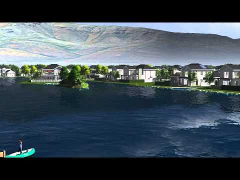 Val de Vie Estate - The Vines 2015 - 3D Animation Fly through. #TheVines #ValdeVie #Paarl