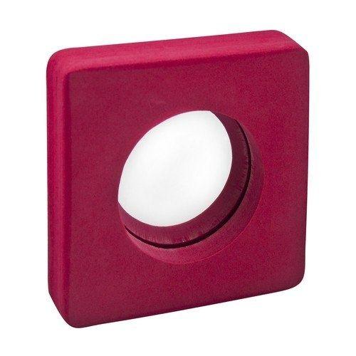 110082 Bolle Spiegel voor snoezelruimte Vierkant Rood
