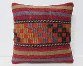 ethnic bedding 18x18 modern pillow case primitive home decor kilim pouf pillow wool rug large throw pillow house decorating kilim rug 27628