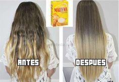 Mascarilla de maizena para reparar el cabello
