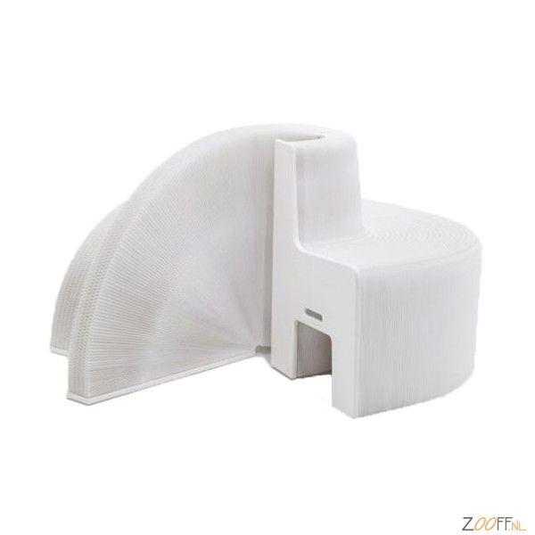 FlexibleLove Design Papieren Uitschuifbank 540 White