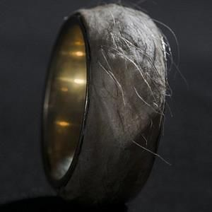 This $500,000 ring is made from human skin. Gross.