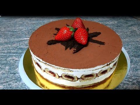Торт Тирамису, рецепт торт тирамису от Руты, - YouTube