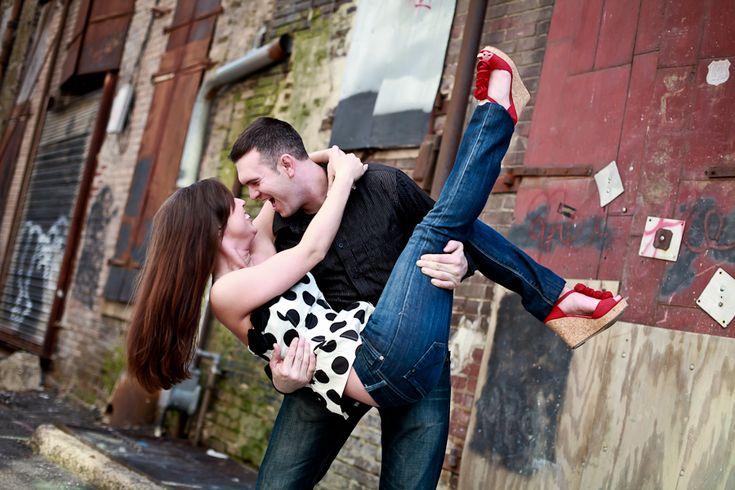 Super fun engagement pose