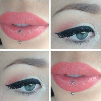 I want a vertical labret so badly