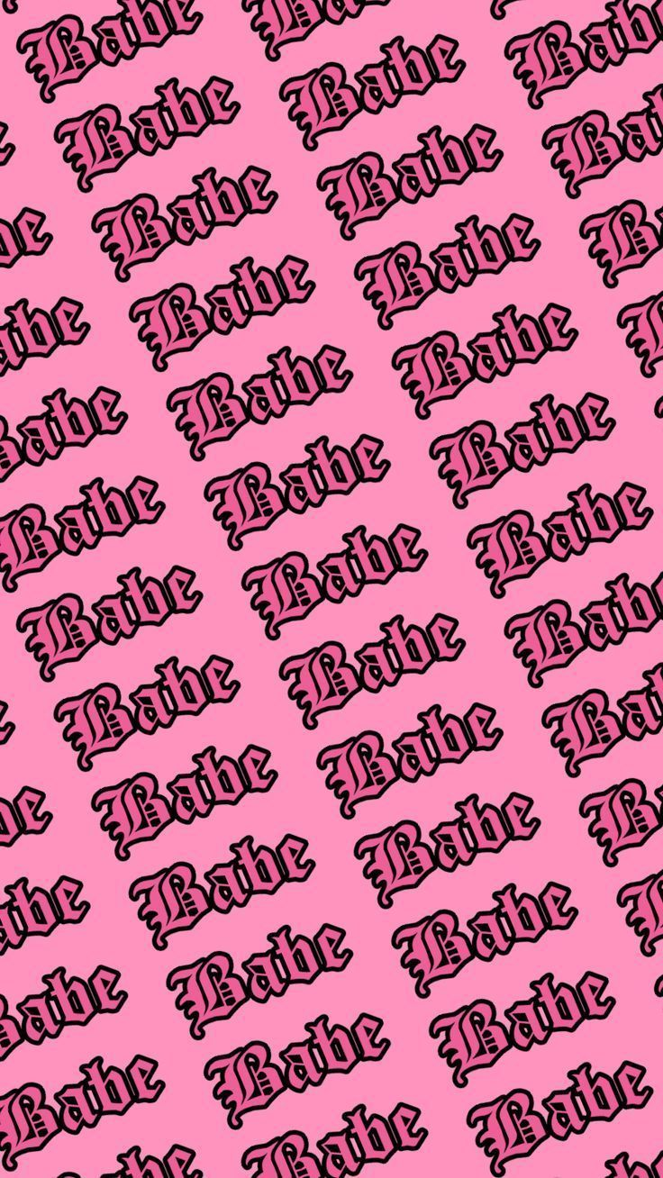 Baddie Wallpaper In 2020 Edgy Wallpaper Pink Wallpaper Iphone Aesthetic Wallpapers