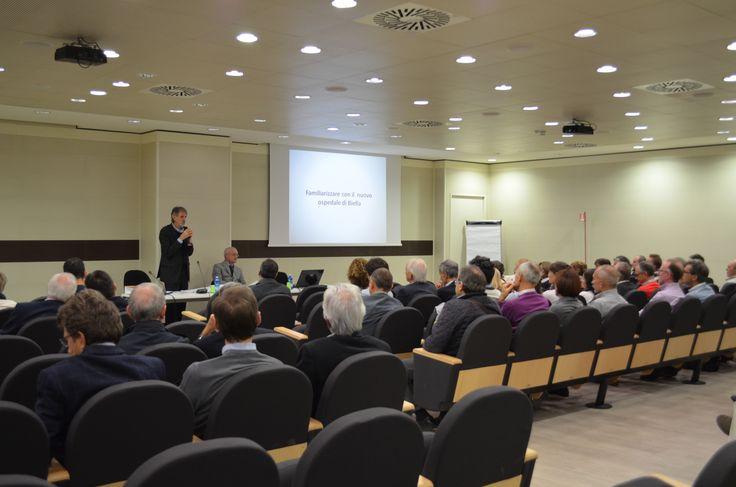 L'evento dedicato ai medici è iniziato presso la sala convegni del Nuovo Ospedale con una spiegazione relativa ai costi di realizzazione, alla suddivisione degli spazi e alle nuove attrezzature. #ospedale #biella