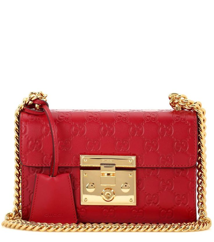 Padlock Small Shoulder Bag With Chain - Gucci