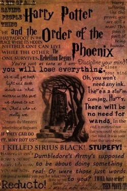 Order of the Phoenix movie quotes