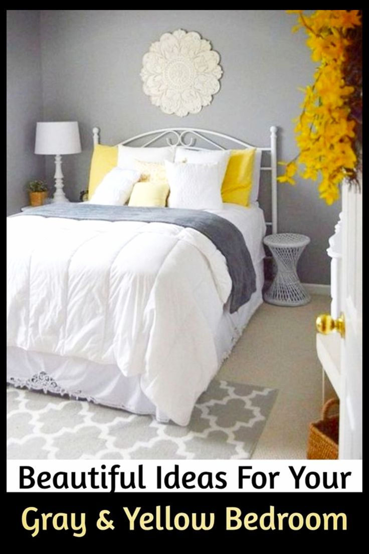 Gray And Yellow Bedroom Ideas Yellow And Grey Bedding Accent Colors Bedroom Decor Ideas Grey Bedroom Decor Yellow Bedroom Decor Yellow Bedding Bedroom