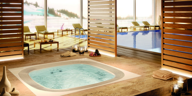 Baseny jacuzzi z hydromasażem od Herbeć Group, świetny sposób na relaks w domowym zaciszu. Więcej produktów marki Jacuzzi na http://jacuzzi.herbec.pl/