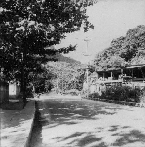 RJ17639Apesar da Barrinha já estar loteada desde os anos 40, inclusive com anúncios nos jornais promovendo uma infra-estrtura que se certamente existisse era bem precária, vemos que mesmo nos anos 50, sua porta de entrada e um dos lugares de ocupação mais antiga da Barra da Tijuca ainda era praticamente vazia,