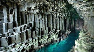 Bulmaca Bil: İskoçya'nın Batı kıyılarında, ıssız Staffa Adası ü...