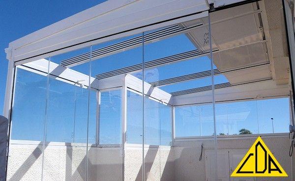 Cerramientos para terrazas de aticos buscar con google - Estructuras de aluminio para terrazas ...