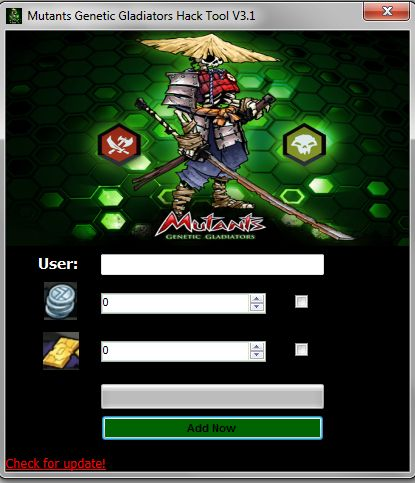 Get latest Mutants Genetic Gladiators Hack at http://mutantsgeneticgladiatorshack.com/