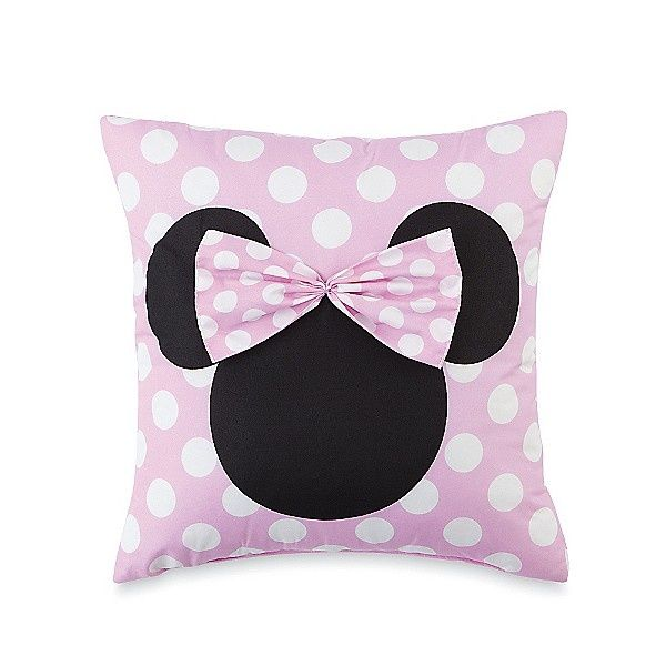 Super cute pillow from Kmart for Hailey's Minnie Mouse room.