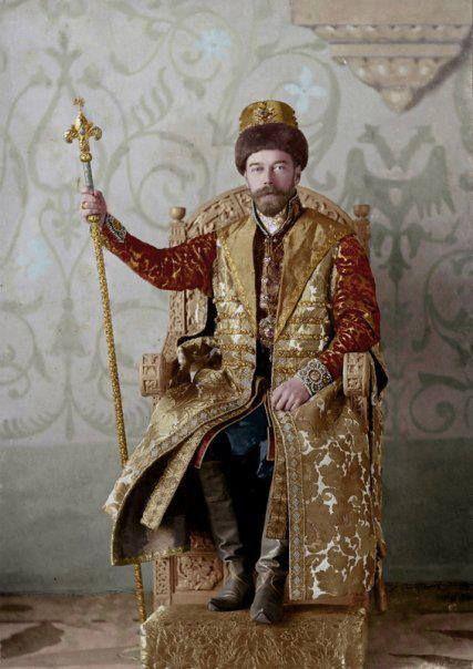 Tsar Nicholas, II at the last Imperial Costume Ball, 1903