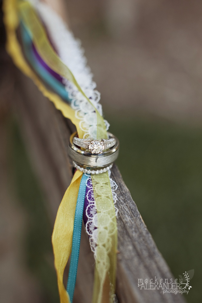 Our rings and ribbon from our Celtic hand fasting ceremony ...