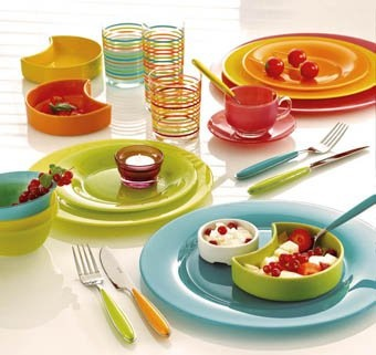 Mix and match | Fun tableware  sc 1 st  Pinterest & 34 best Fun Tableware images on Pinterest | Utensils Dinner ware ...