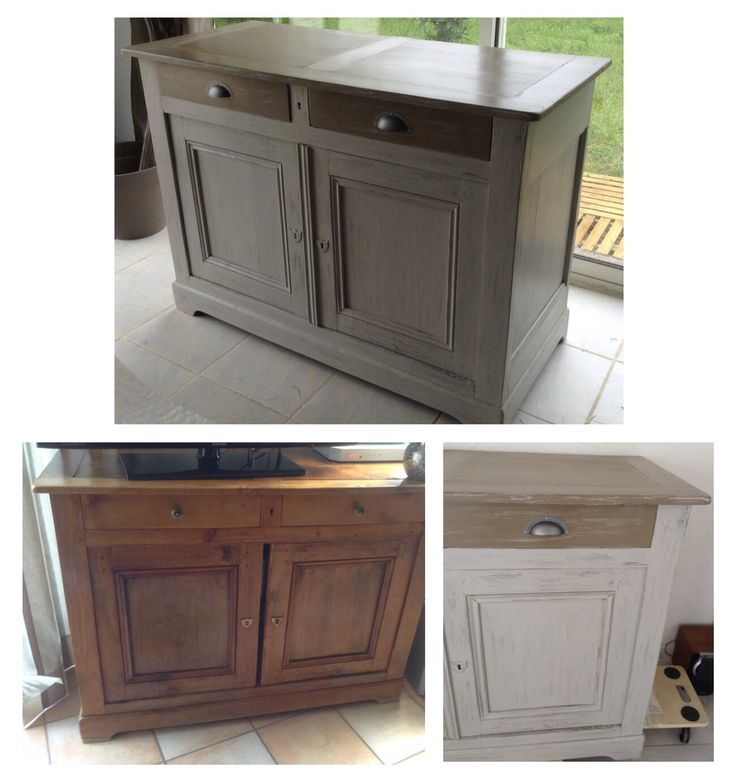 Buffet relooké patine shabby