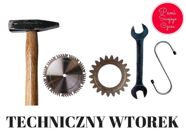 Techniczne wtorki to artykuły dla tych z Was, które z technikami zarządzania czasem nie chcą być na bakier http://www.paniswojegoczasu.pl/category/techniczny-wtorek/
