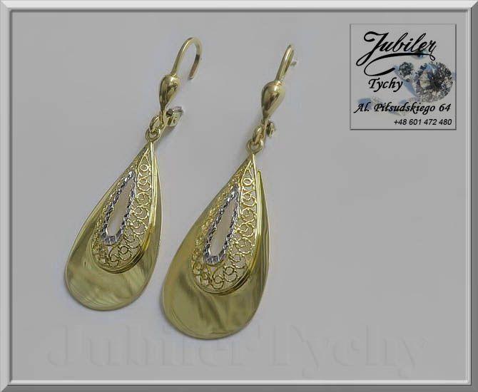 Złote kolczyki wiszące 💎🎁💥 #Złote #kolczyki #wiszące #Złoto #Au585 #Gold #jubilertychy #Jubiler #Tychy #Jeweller #Tyski #Złotnik #Zaprasza #Promocje: ➡ jubilertychy.pl/promocje 💎